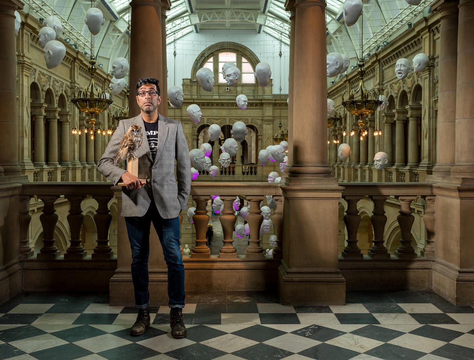 Sanjeev Kohli - Kelvingrove Art Gallery and Museum, Glasgow
