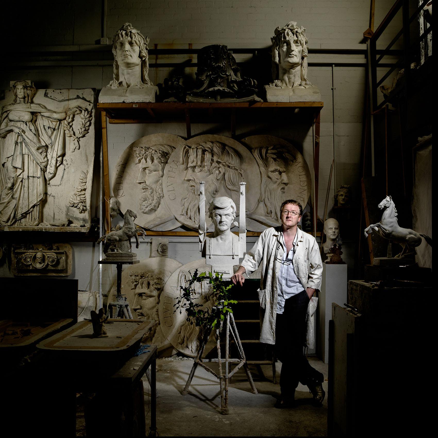 Alexander Stoddart - sculptor