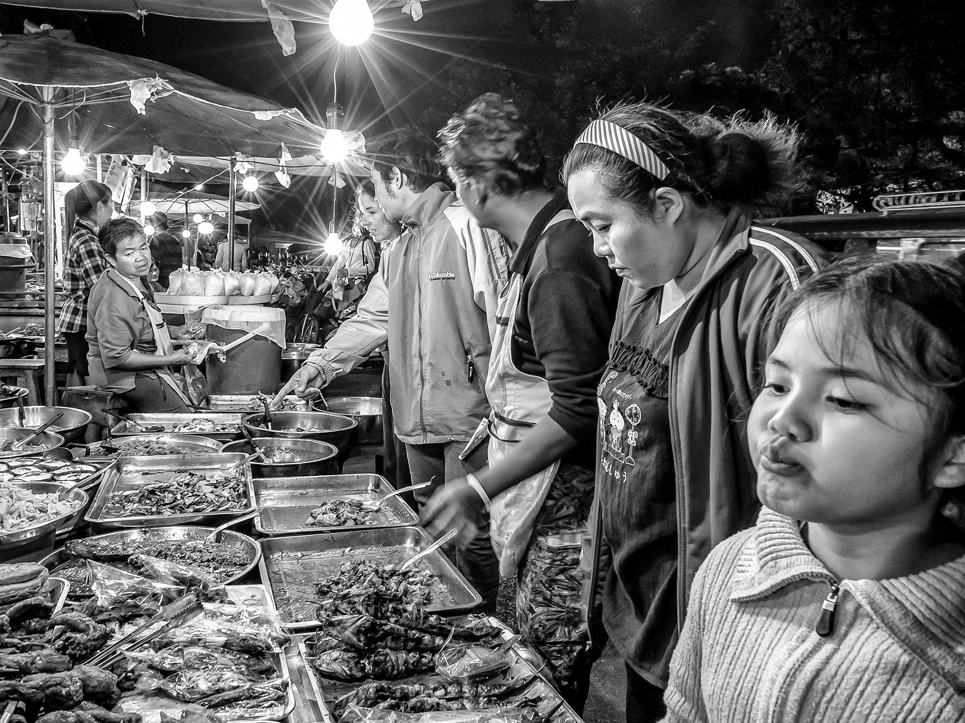 Street food choices - Chiang Mai