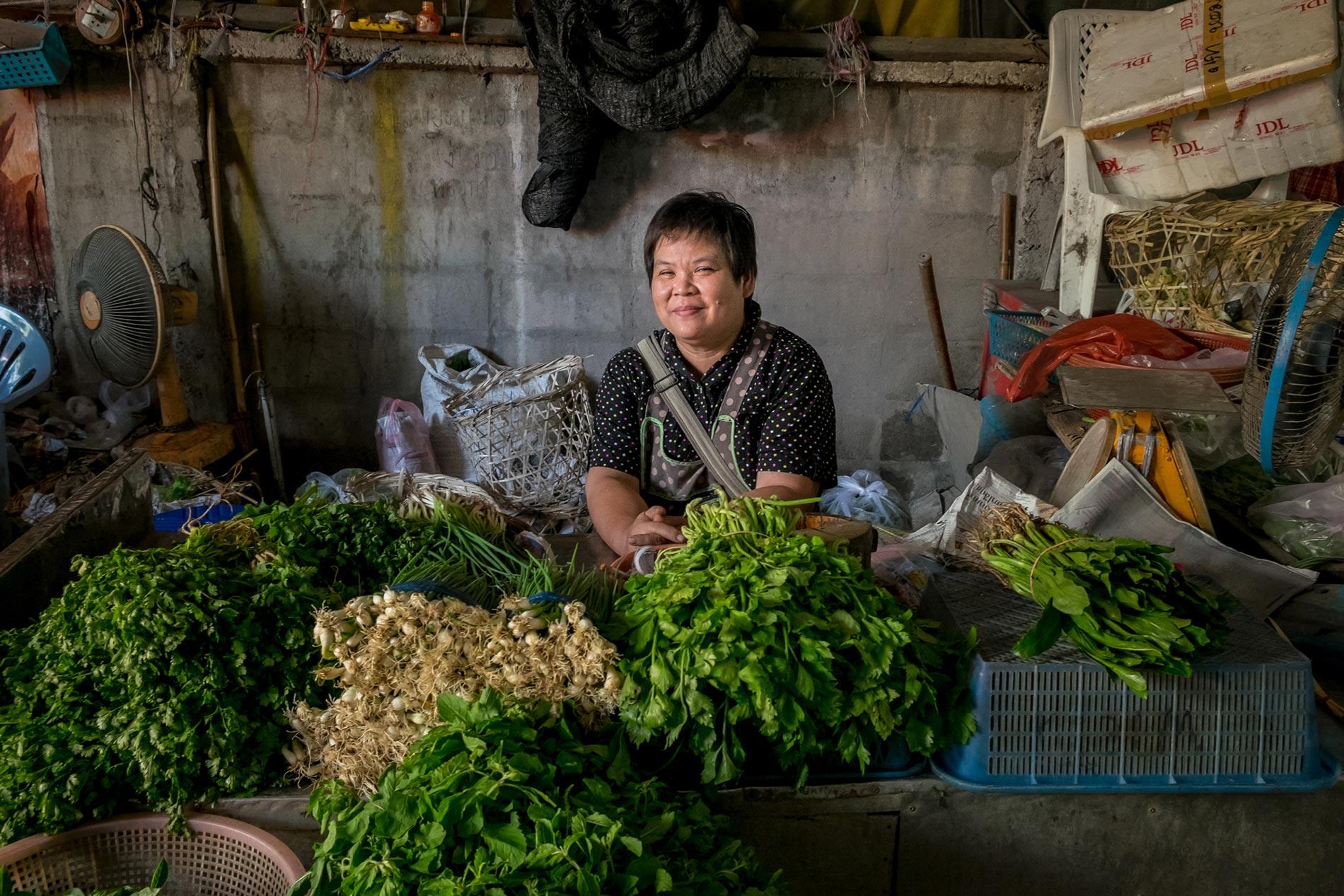 Herb woman - Chiang Mai
