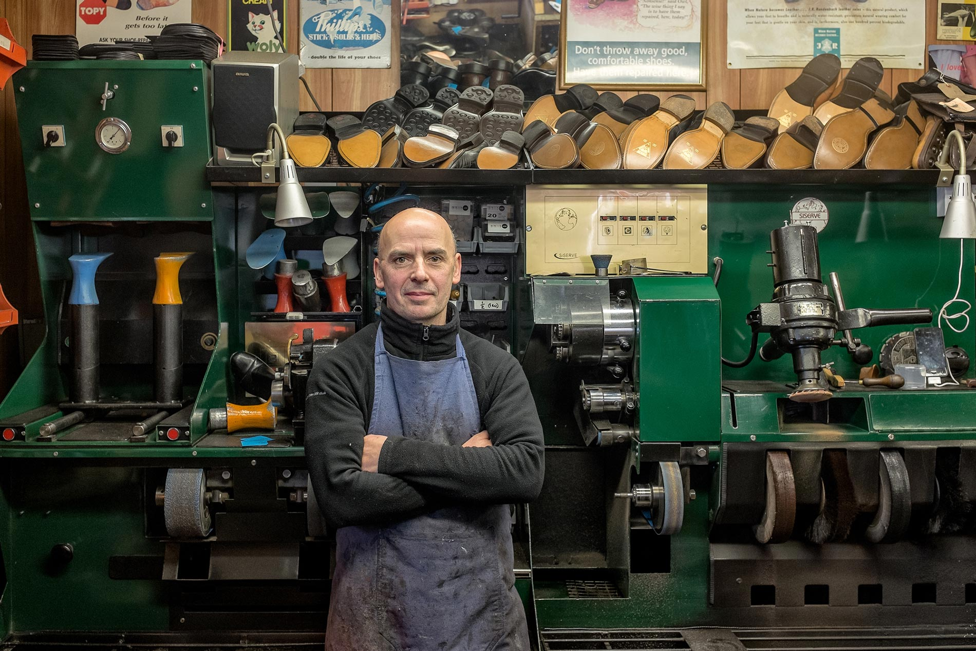Huttons shoe repair - Elgin Terrace, Edinburgh