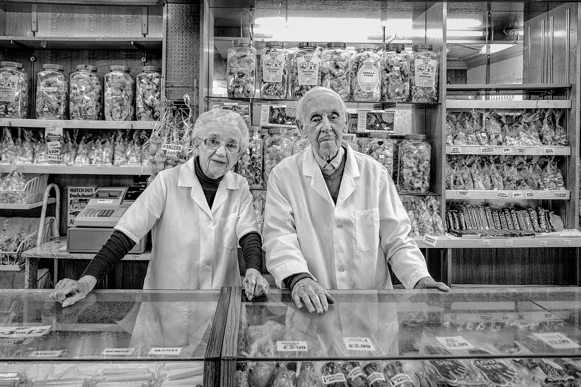 Marion and Charles Funai - Girvan