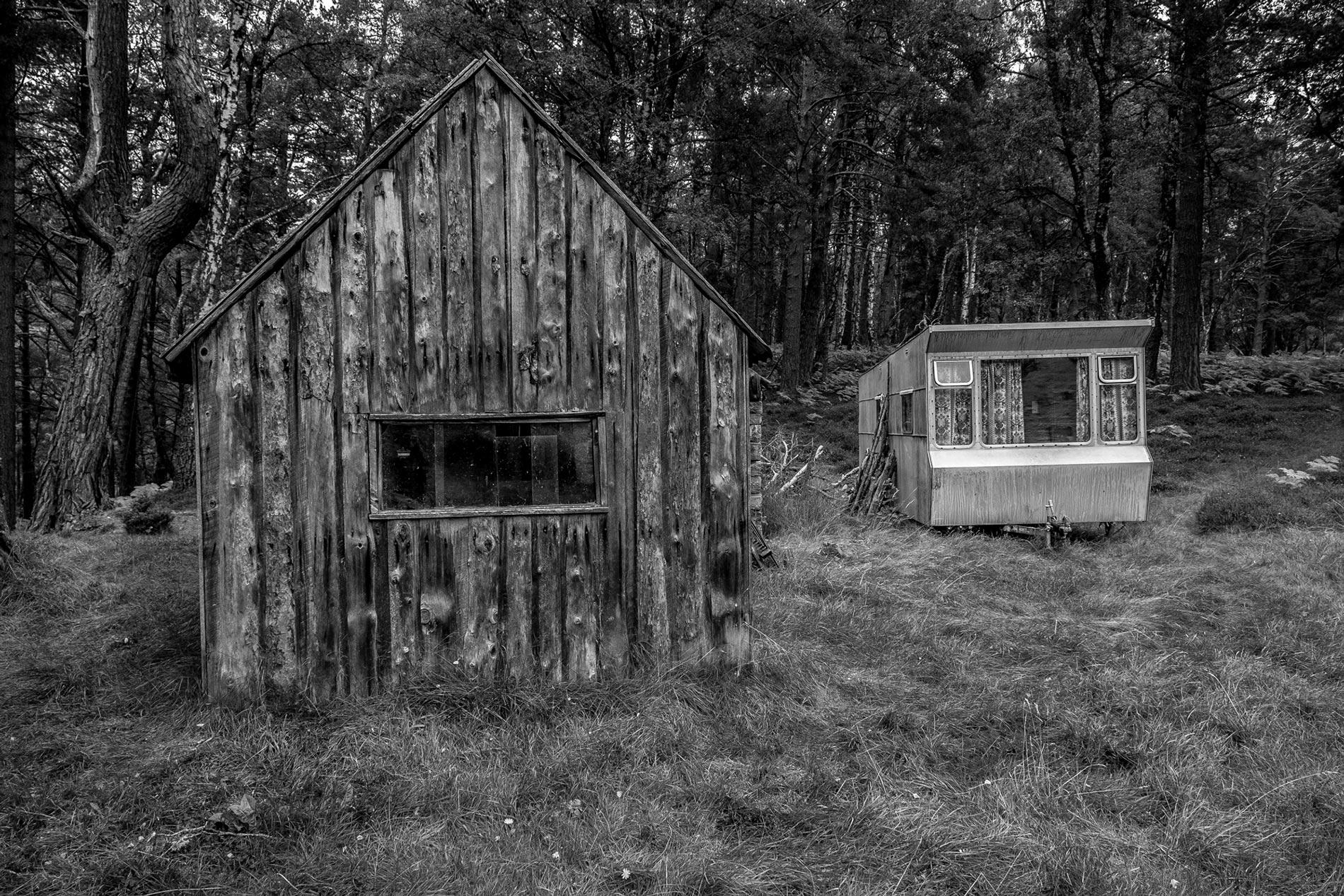 Loch an Eilein hut - Cairngom