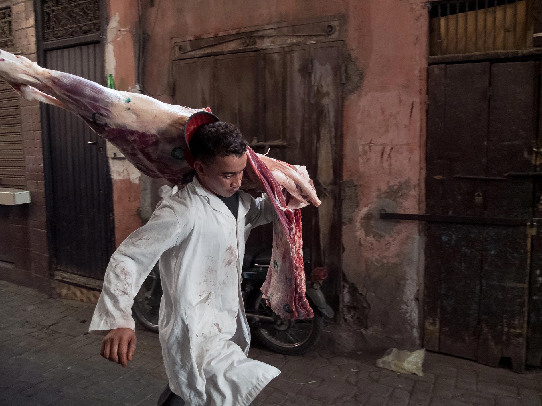 Butcher - Marrakech