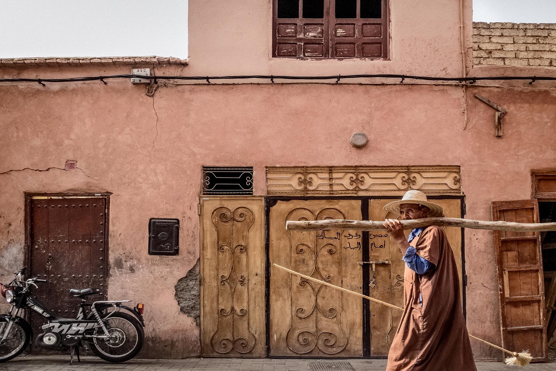 Stick man - Marrakech