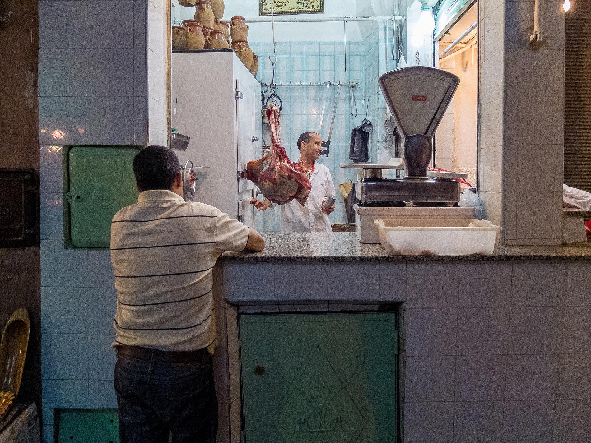 Butcher shop - Marrakech