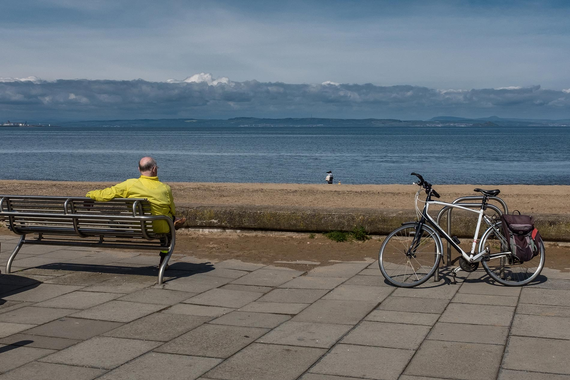 Cyclist - Musselburgh