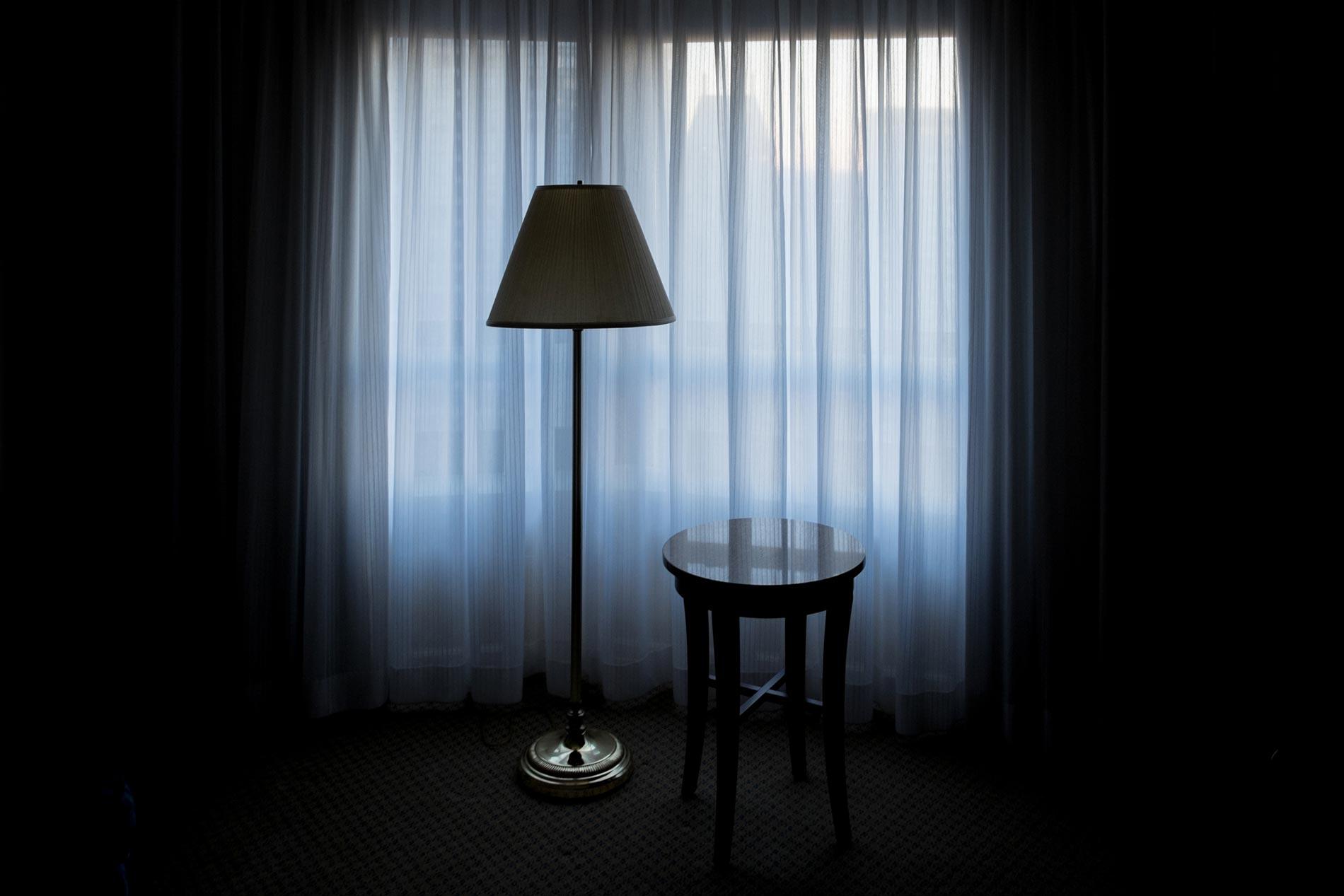 Hotel room window - New York