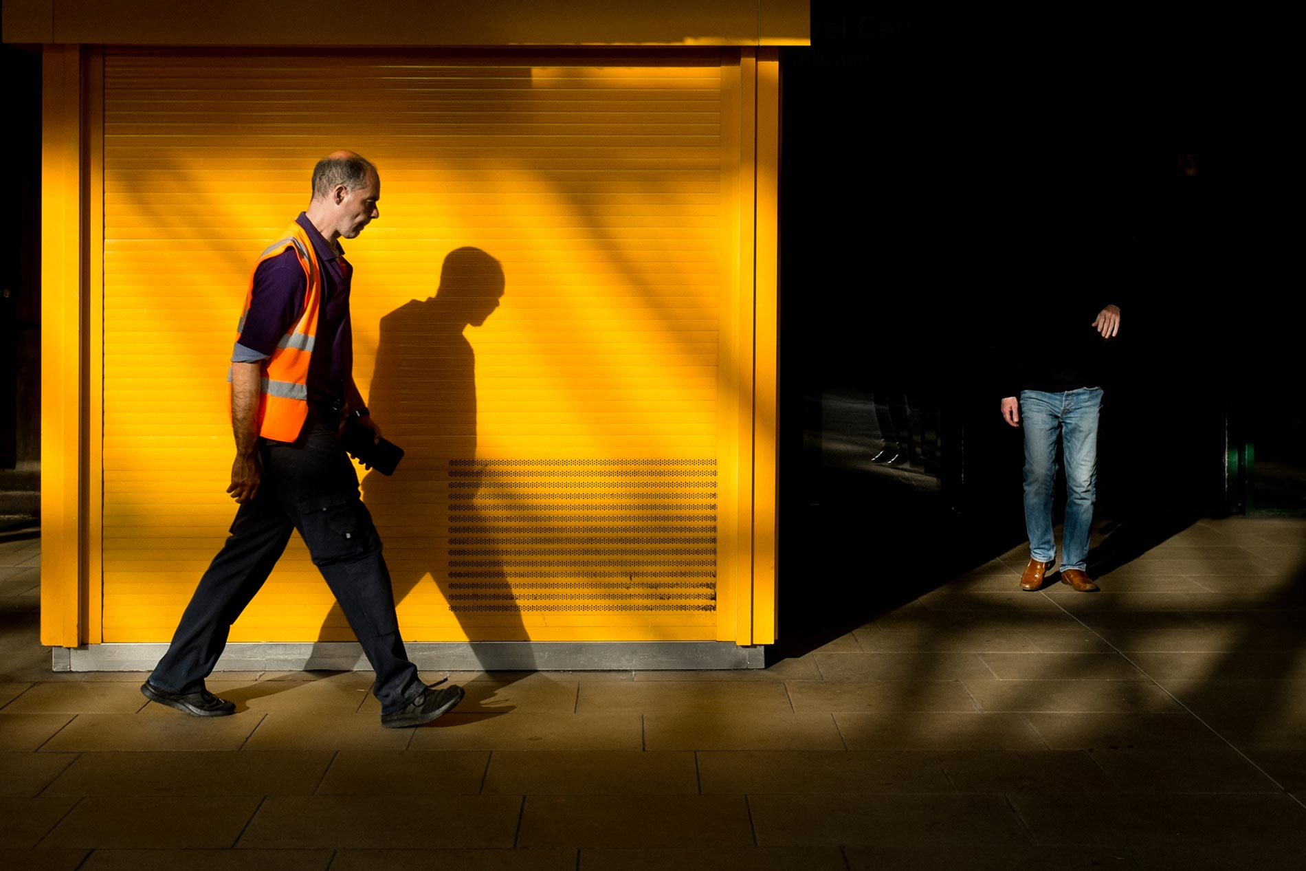 Railworker - Waverley Station, Edinburgh