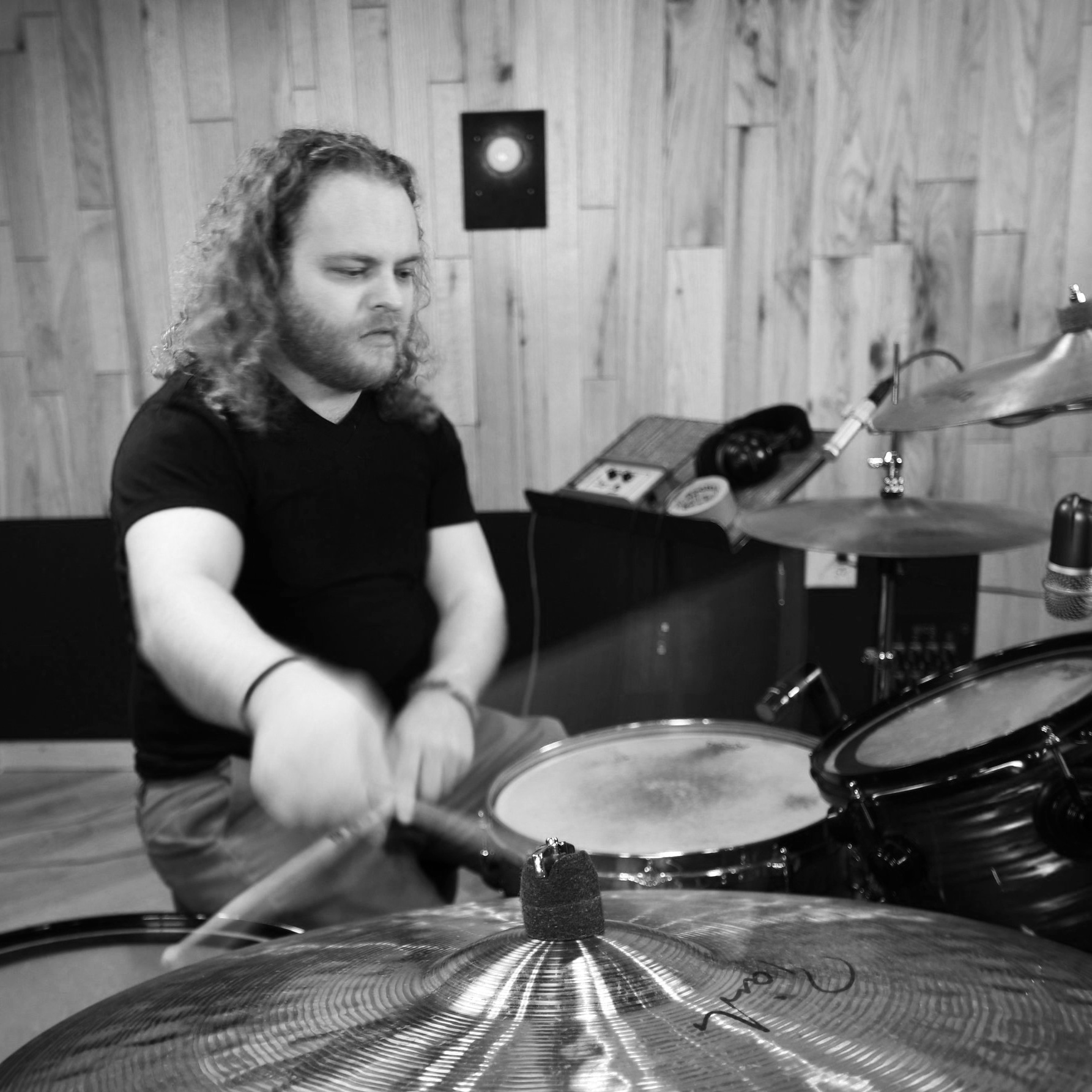 Session Drumming - As a drummer for 20 years, I've covered a lot of different genres and stages. I have professional training in all kinds of classical and ethnic percussion, and can play a wide assortment of genres and patterns on drum set.- $15 / hour- Played in a number of bands across genres, and professional percussion training- Samples