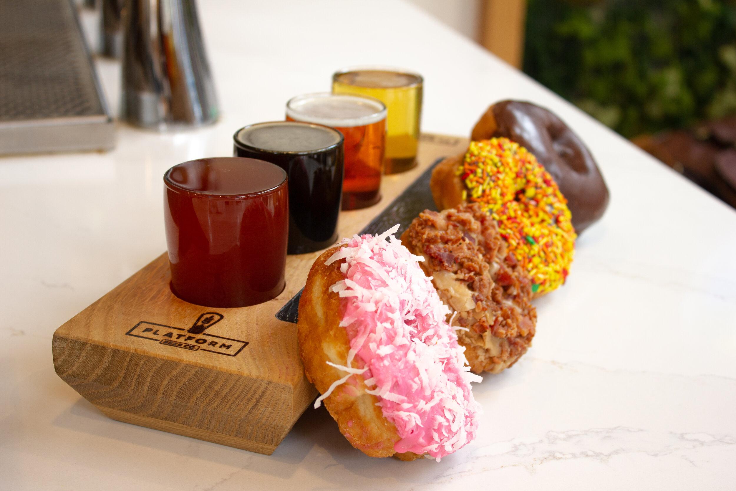 Holtman's Donuts x LOCOBA Beer Pairing