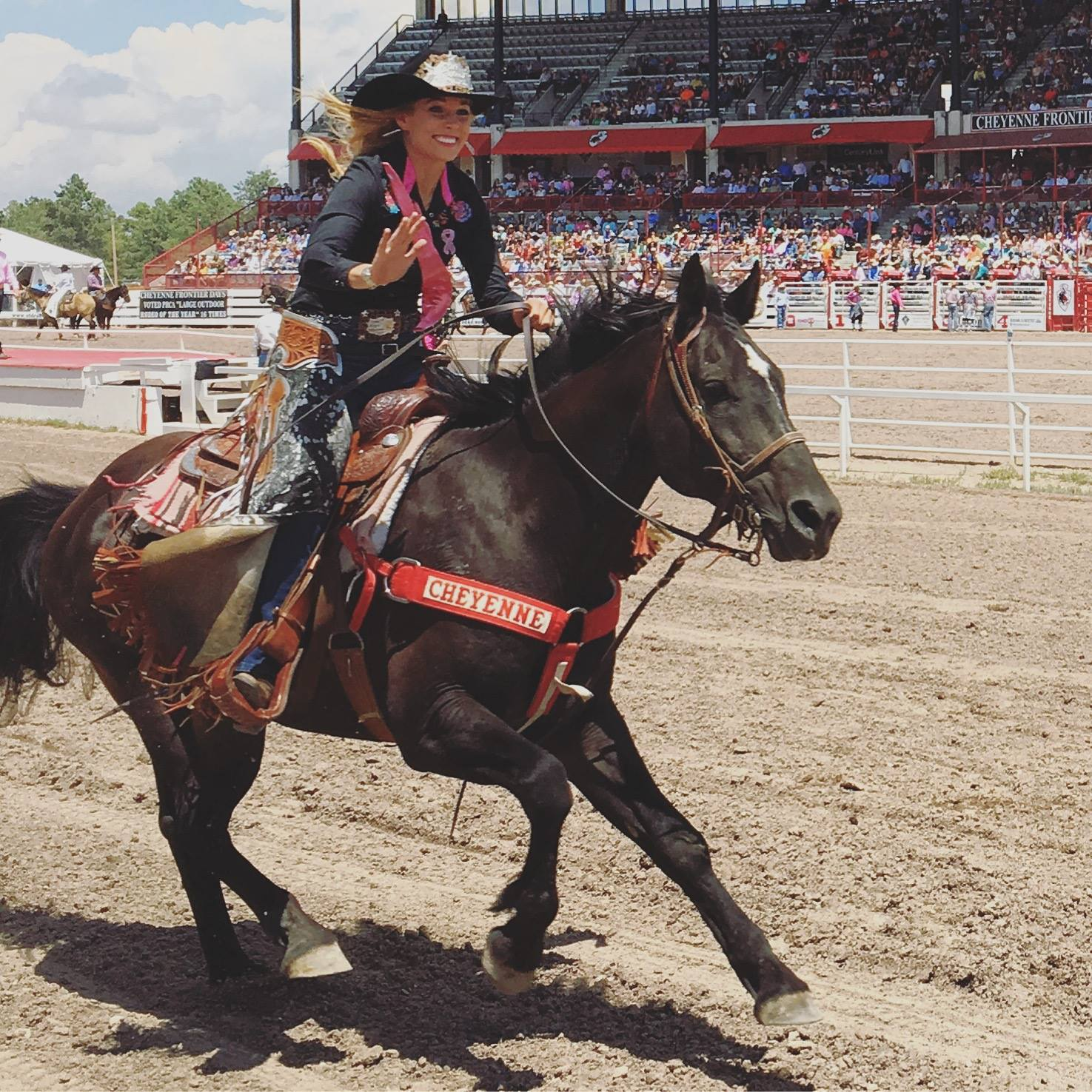 Miss Rodeo Wisconsin Katelin Bradley
