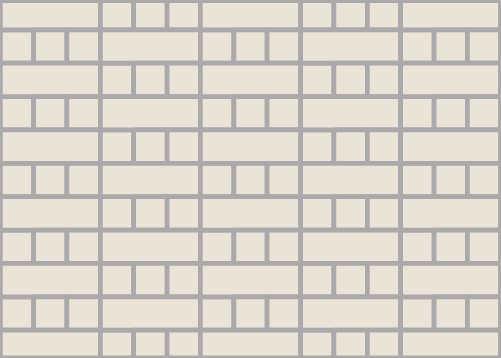 Mixed Linear Tile Pattern