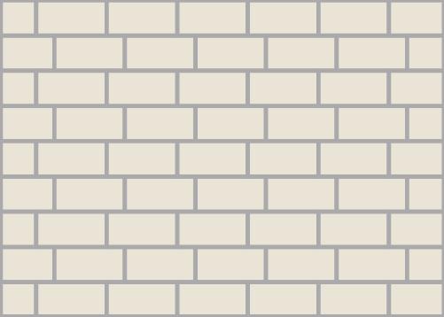 3/4 Brick Tile Pattern
