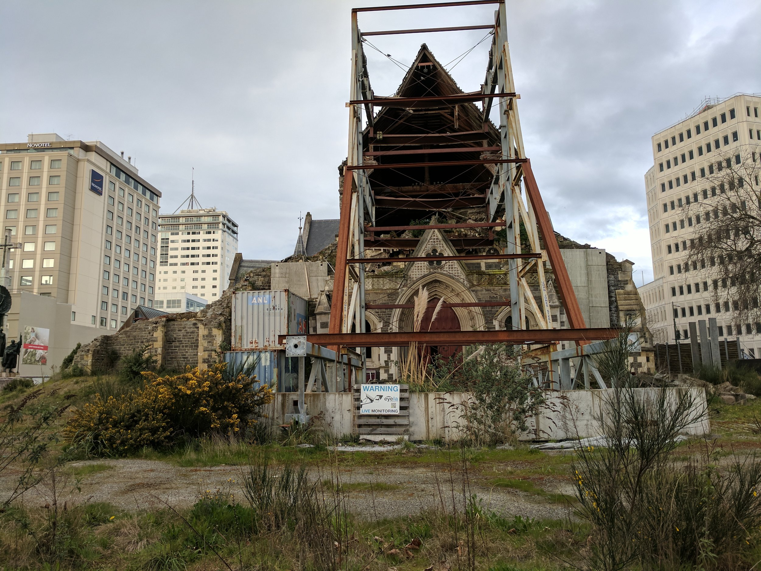 Christchurch Cathedral, 2017