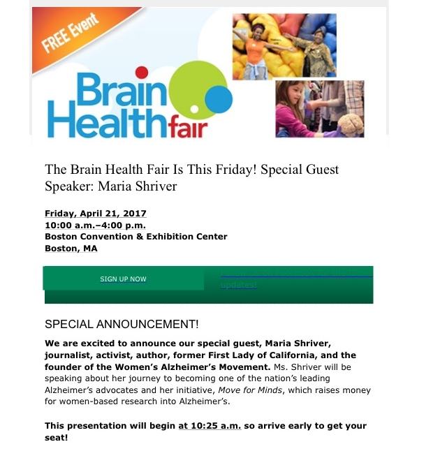 For additional information visit www.patients.aan.com/brainhealthfair/