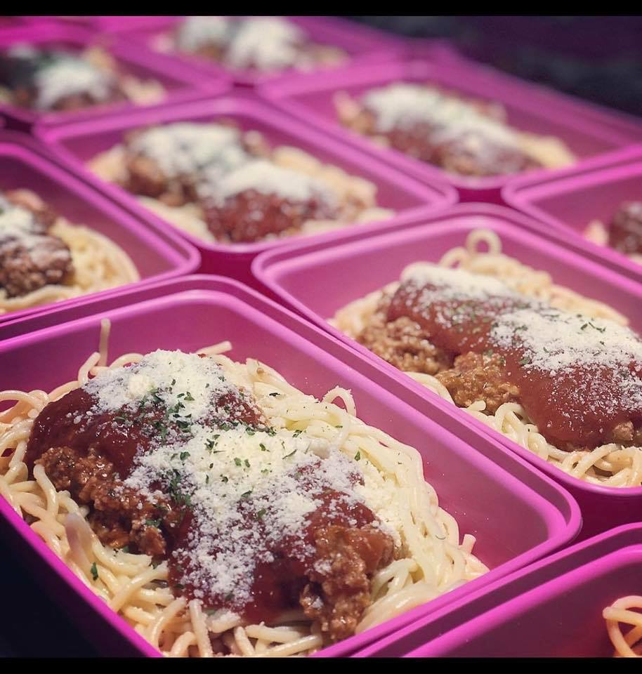 Spaghetti w/Turkey Meat sauce