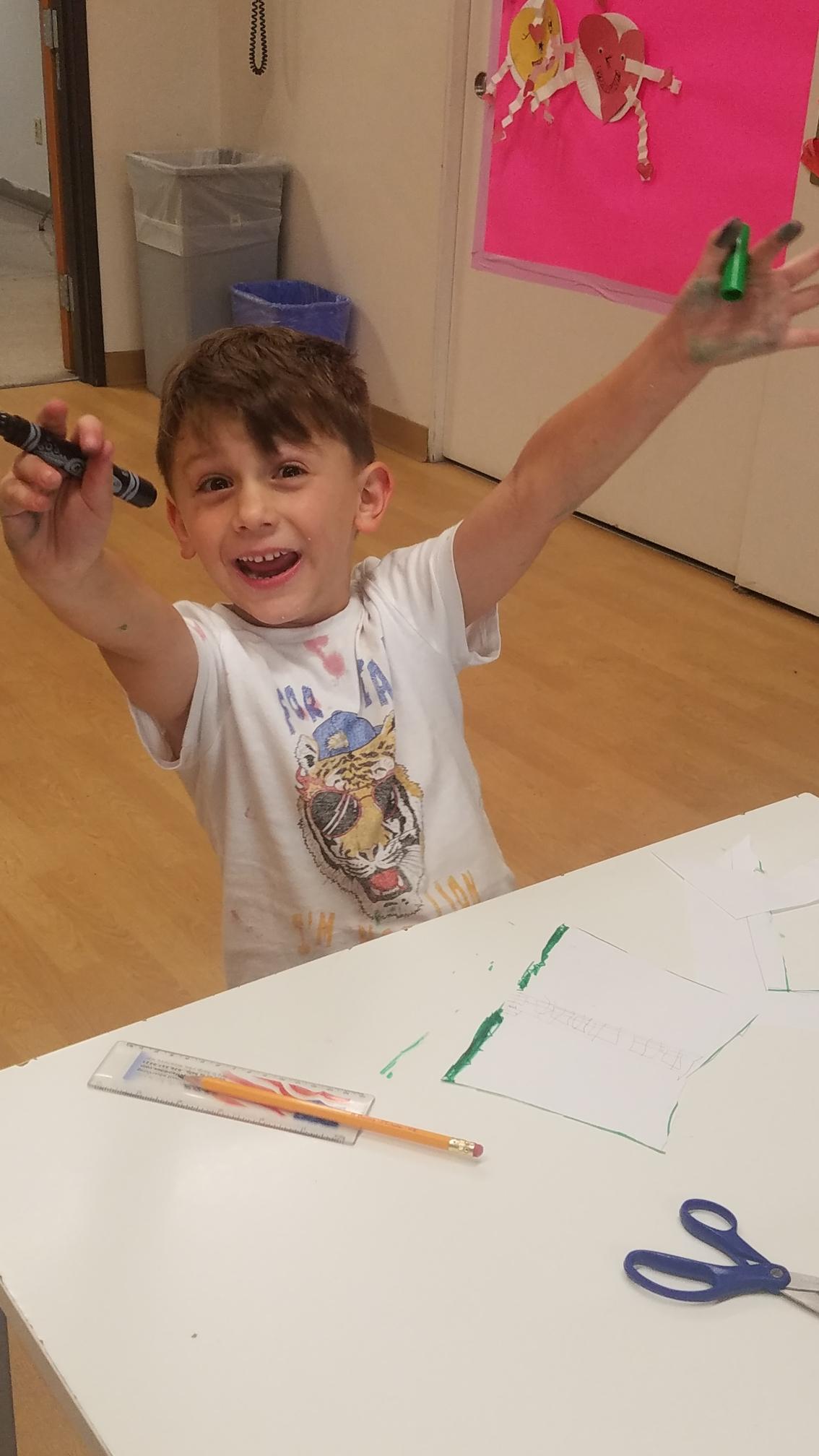 Pre-K - 2 After-School Art Program