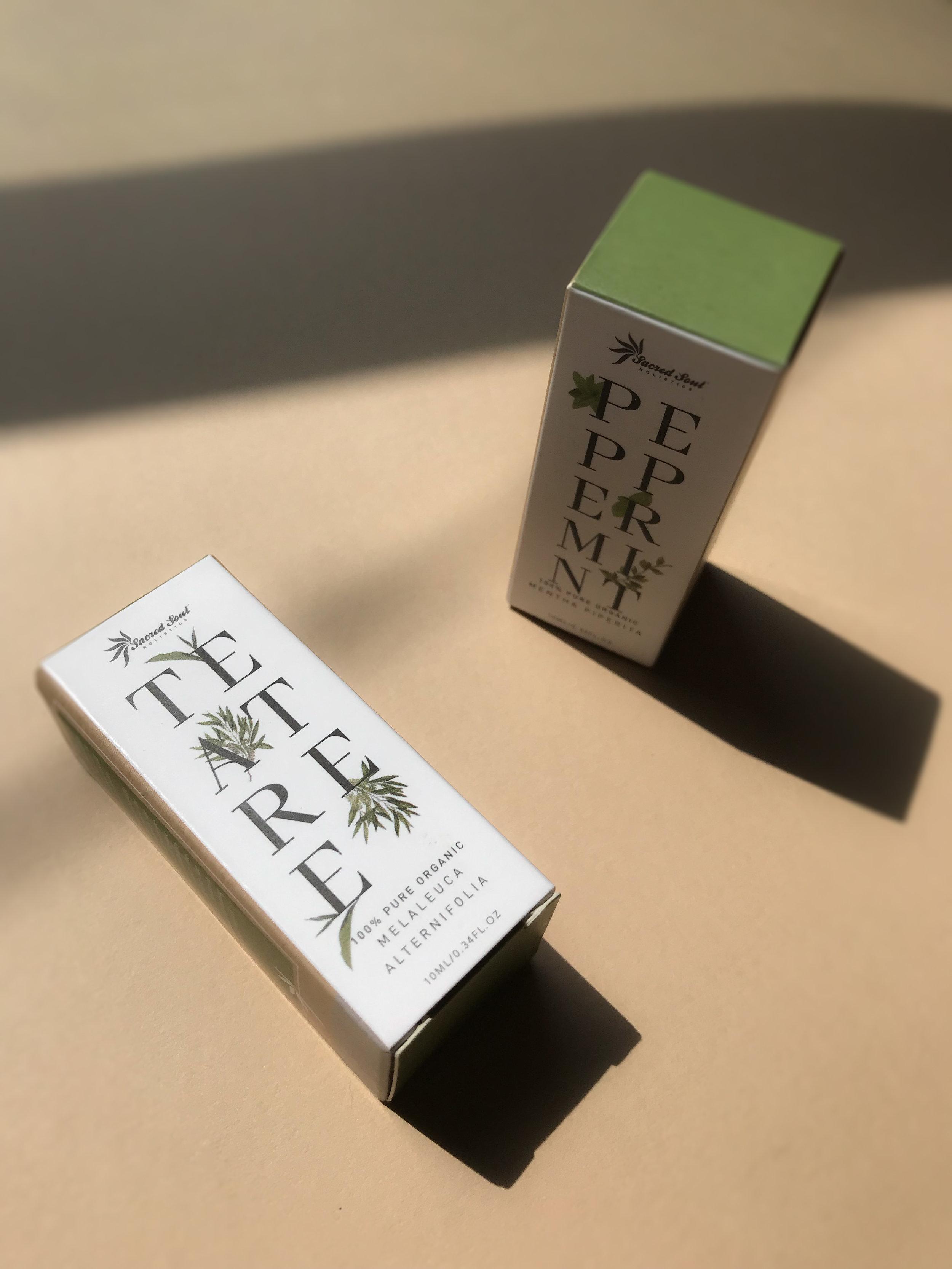 Ara the altar - Peppermint and Tea Tree Essential Oils