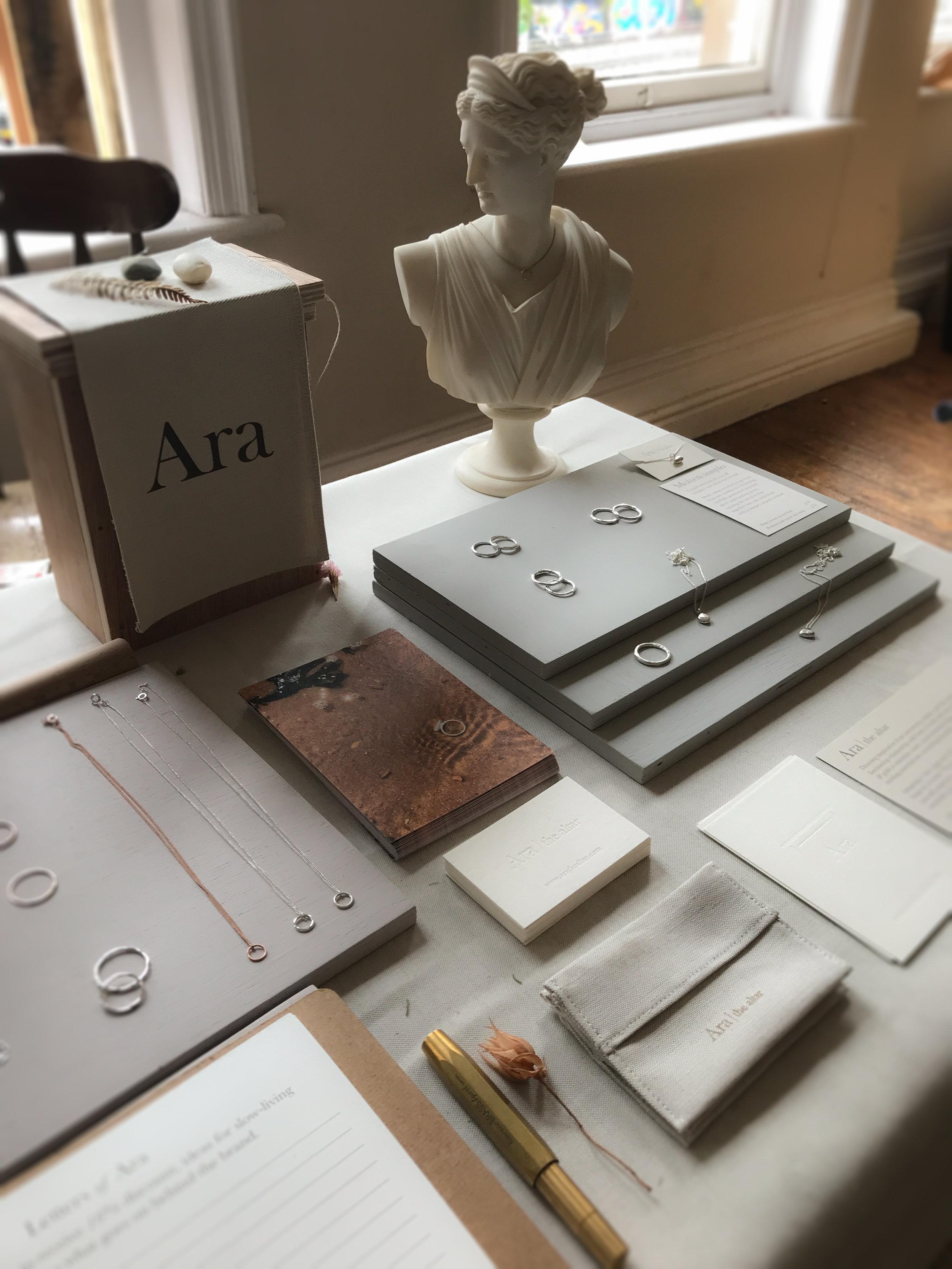 Ara the altar - a lammas gathering - set up 1