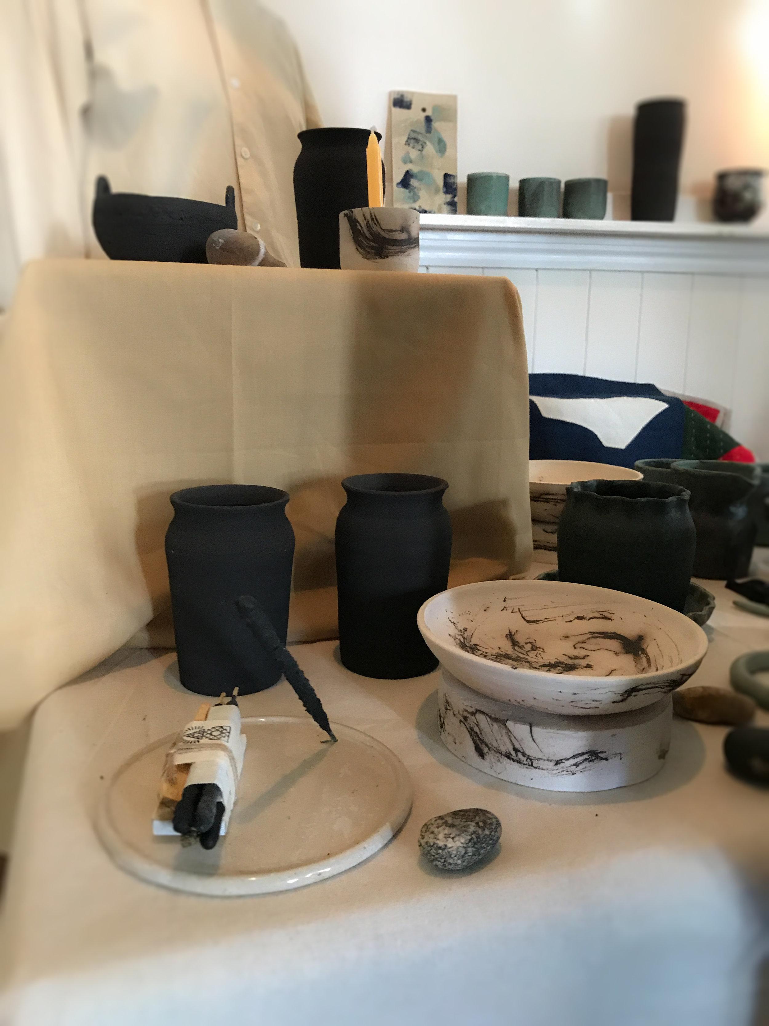 Sacred ceramics by Blue Firth of    Dohm Shop