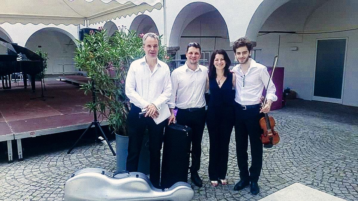 Klassik im Burghof / 09. Juli 2016 / Konzert mit dem Muskos-Klavierquartett