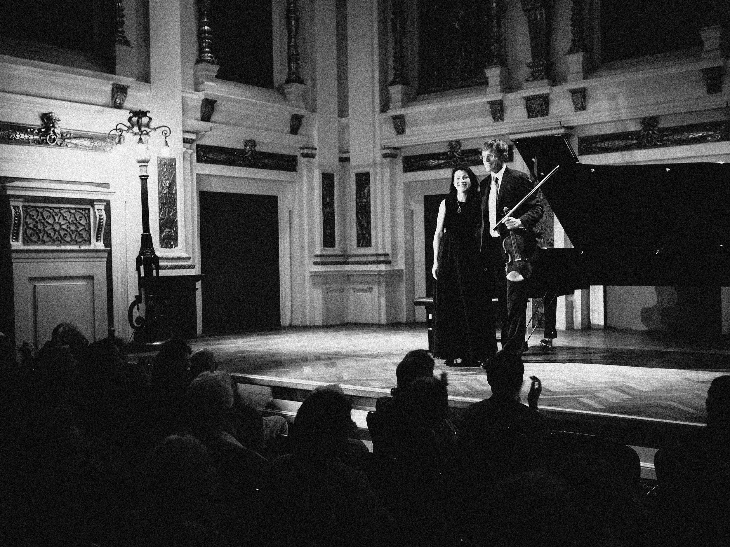 Ehrbar Hall / April 29, 2017 / Chamber Music Recital with Volkhard Steude