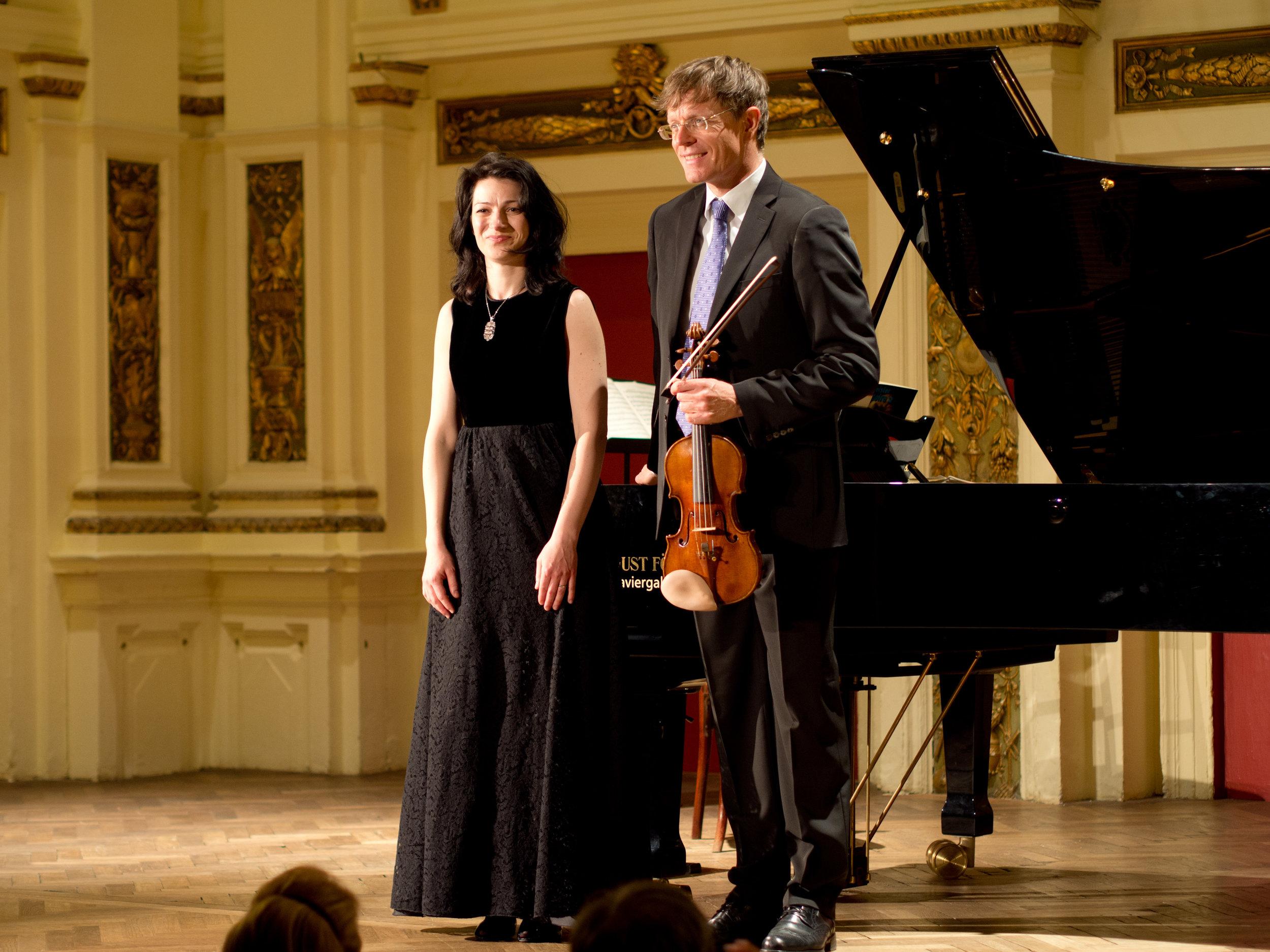 Ehrbar-Saal / 29. April 2017 /Kammermusikabend mit Volkhard Steude