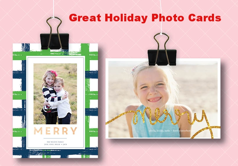 Personalized Holiday Photo Cards and Invitations from Boatman Geller