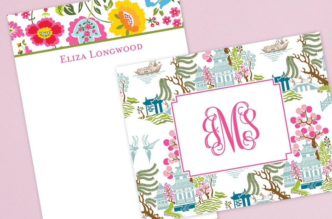 Personalized Notecards and Notepaper