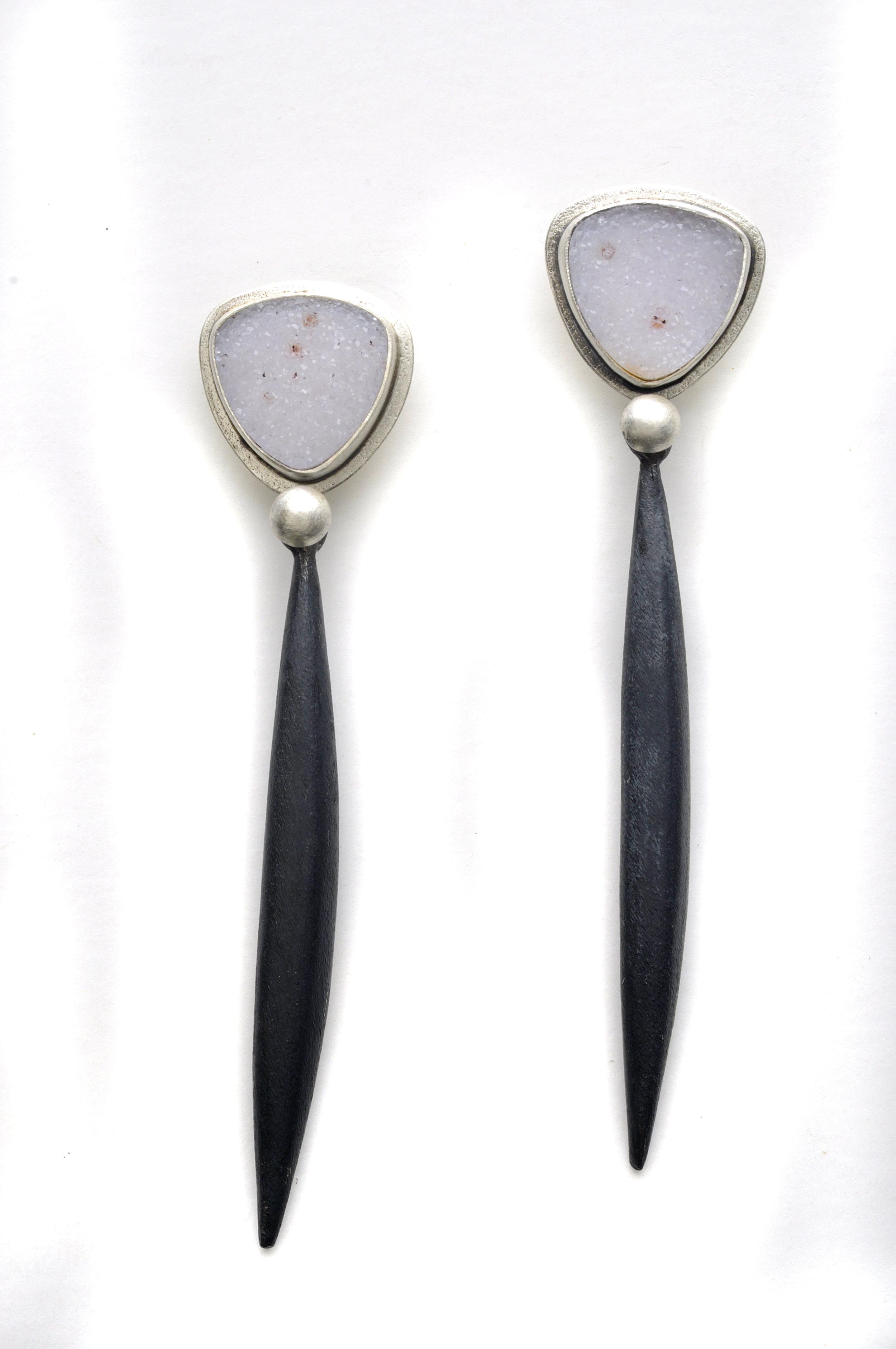 Drusy Black Pod Earring 2.jpg
