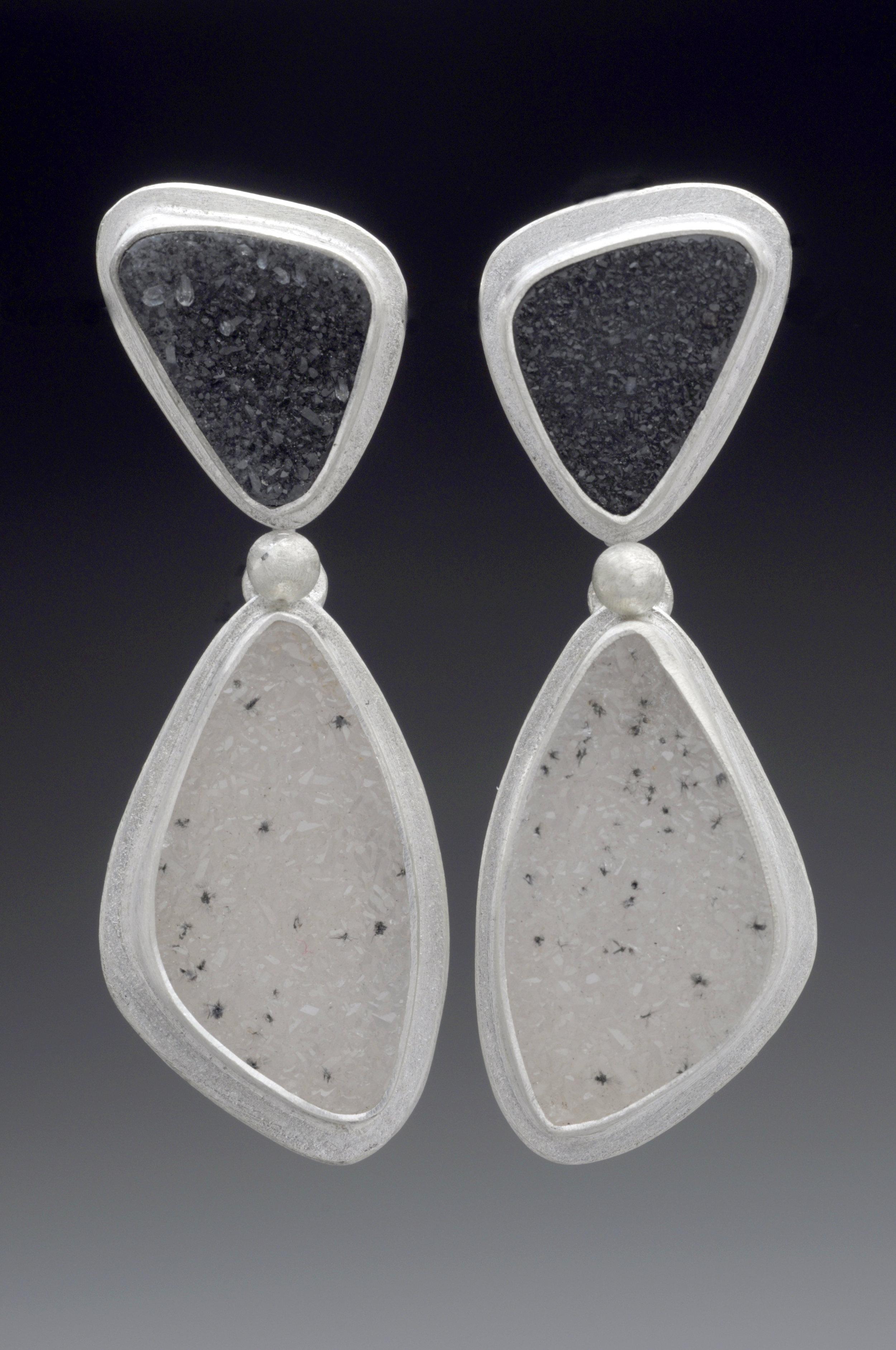 Black White Drusy Earring.jpg