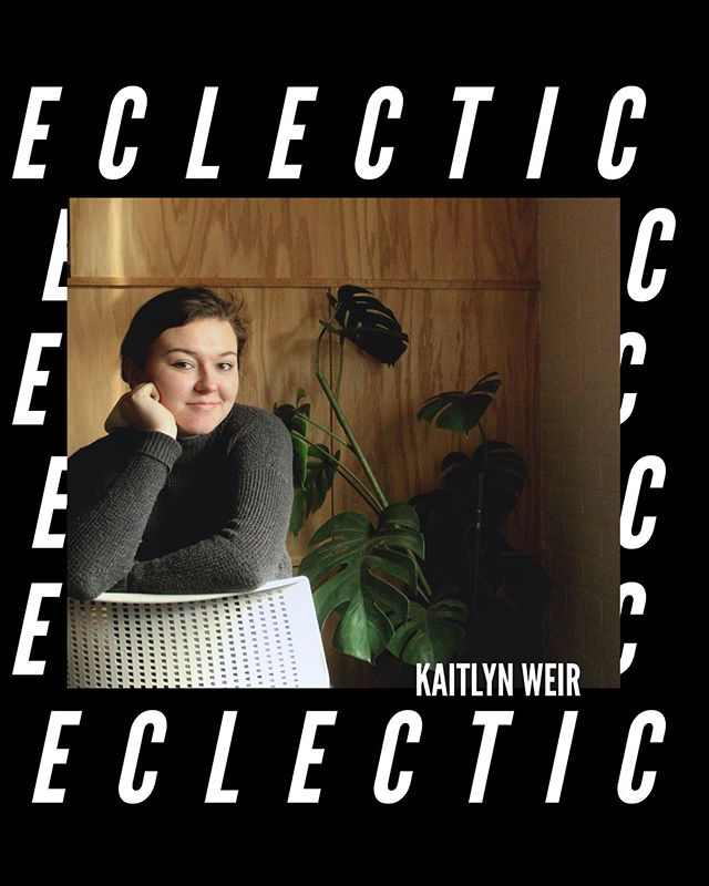 """Eclectic means to derive things from various sources. It's kind of how I would describe my style and personality, as well as how I am influenced by all other things in my life."" - Kaitlyn Weir, RY Music Marketing Team #wordsofRY"