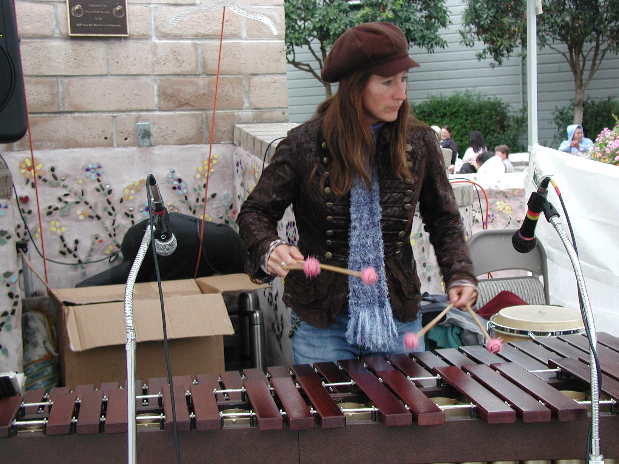 Julia Harrell on Marimba.jpg