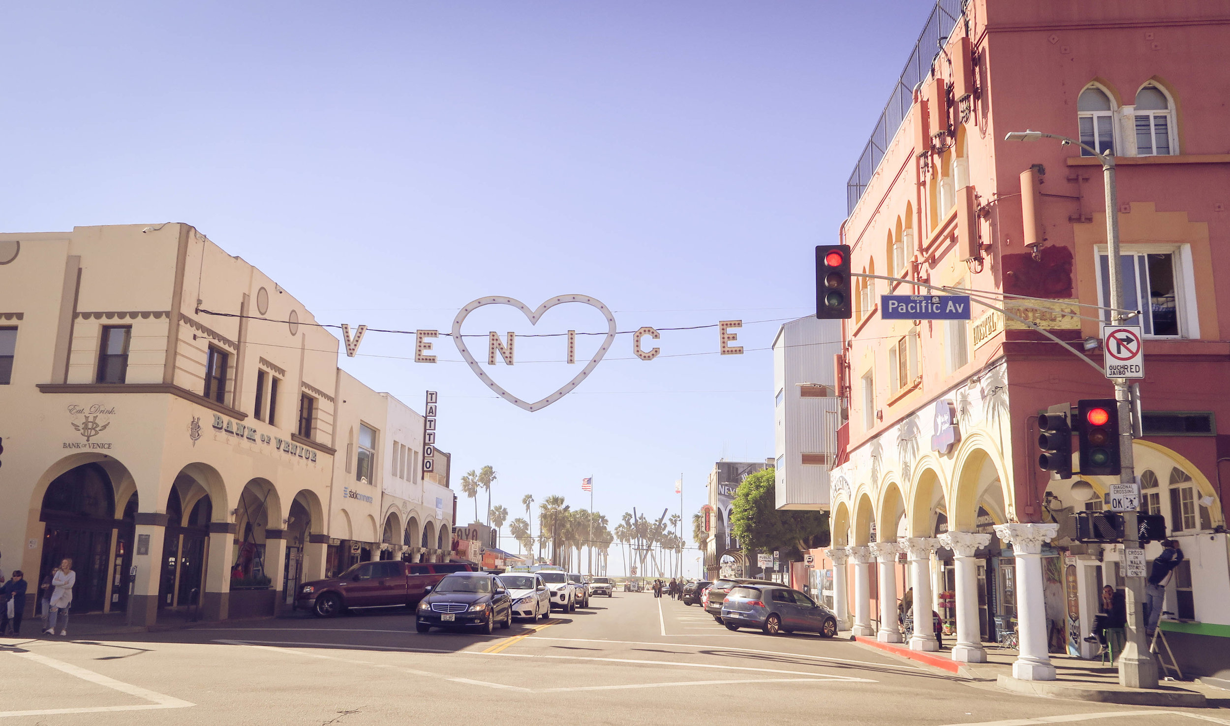 The Venice Beach sign doesn't get any cuter