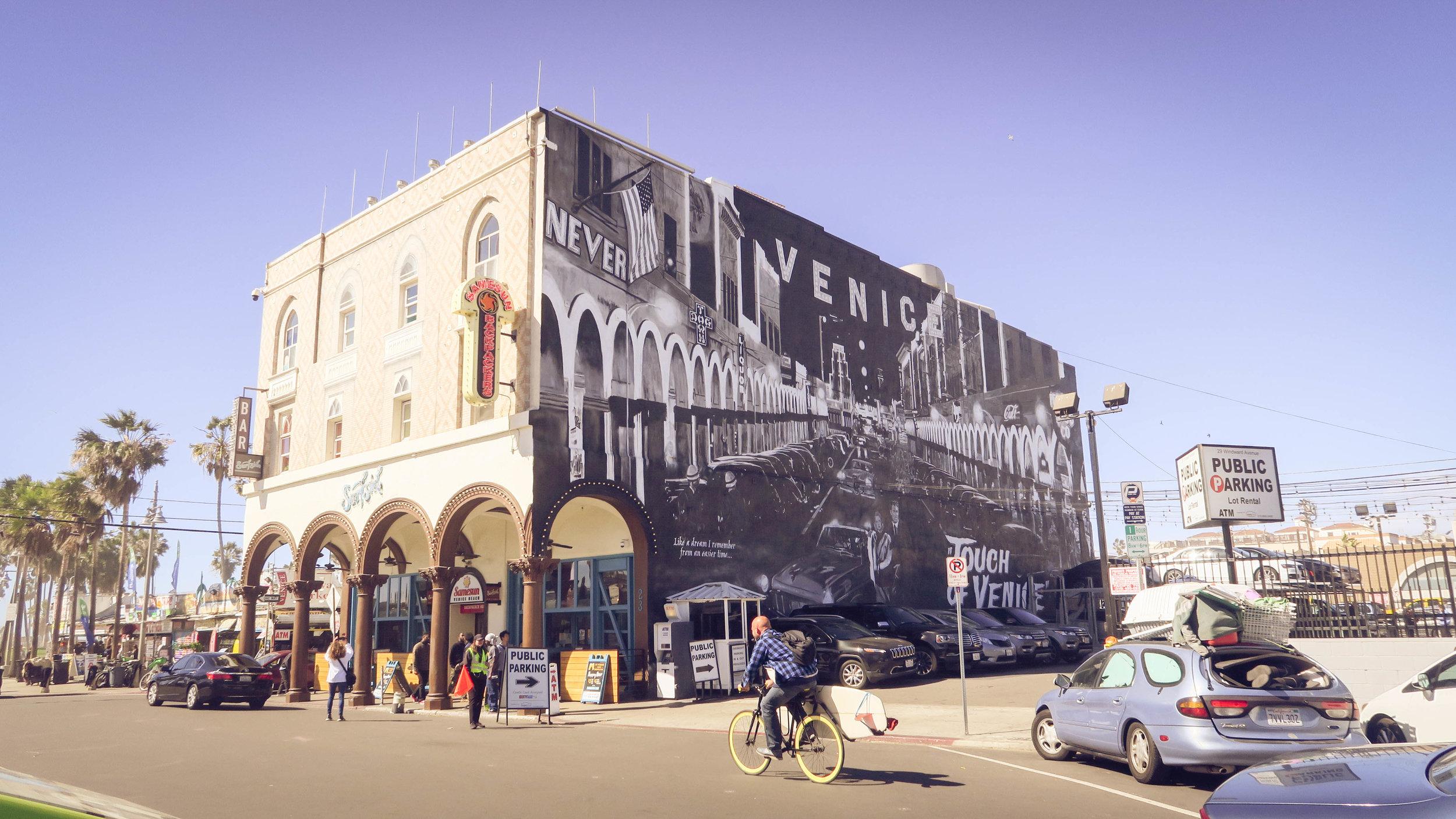Beautiful Wall Mural in Venice Beach