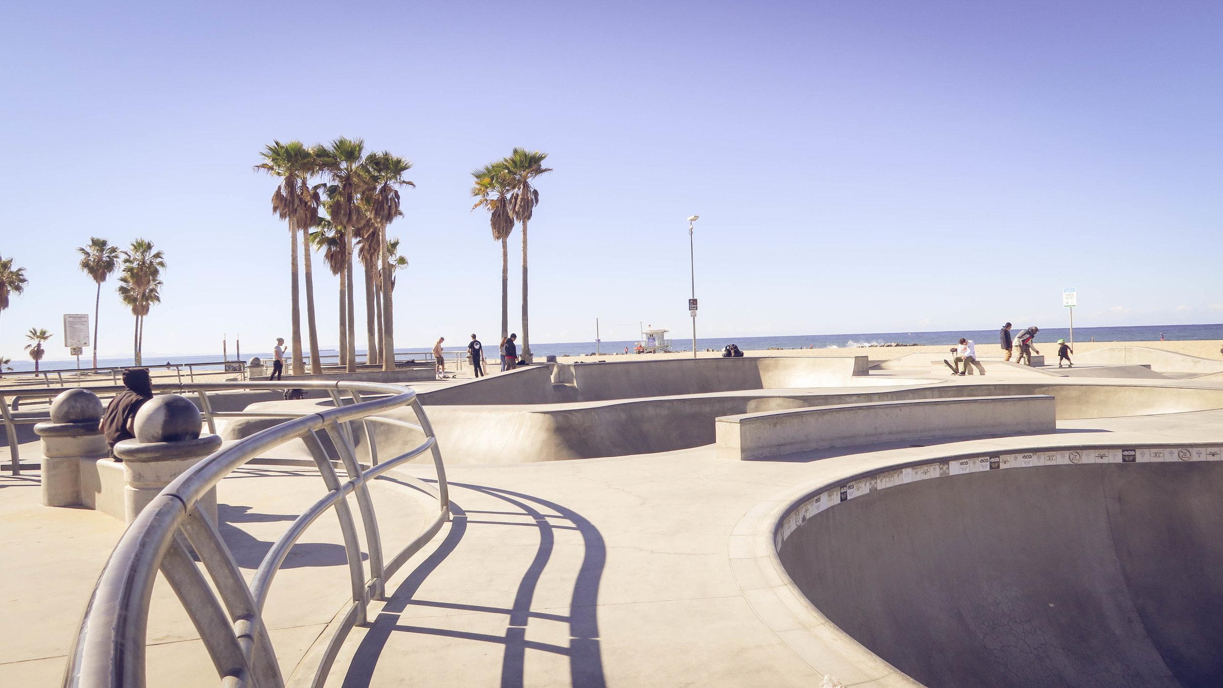 The Famous Venice Beach Skatepark