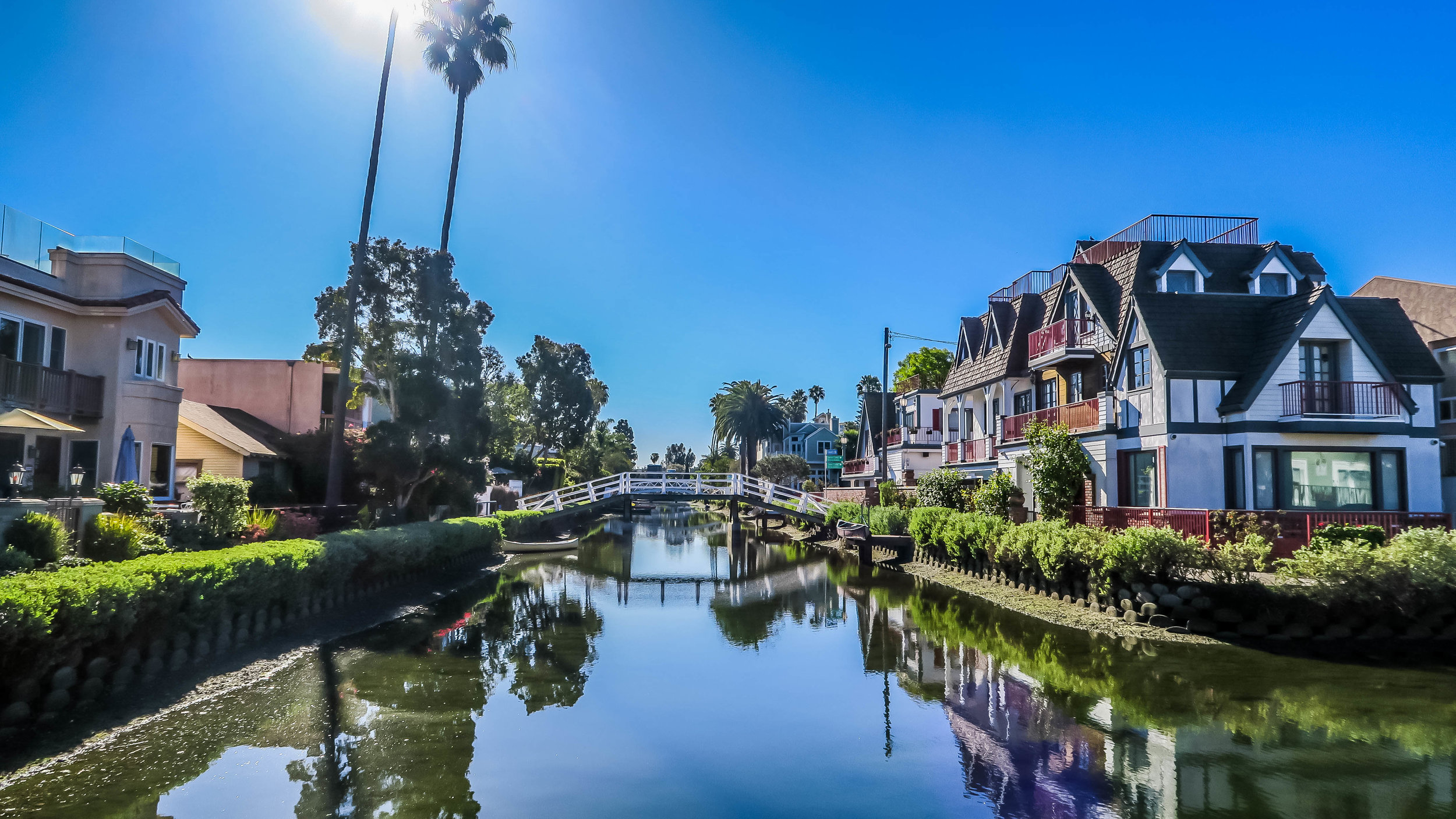Reflections on the Venice Canals