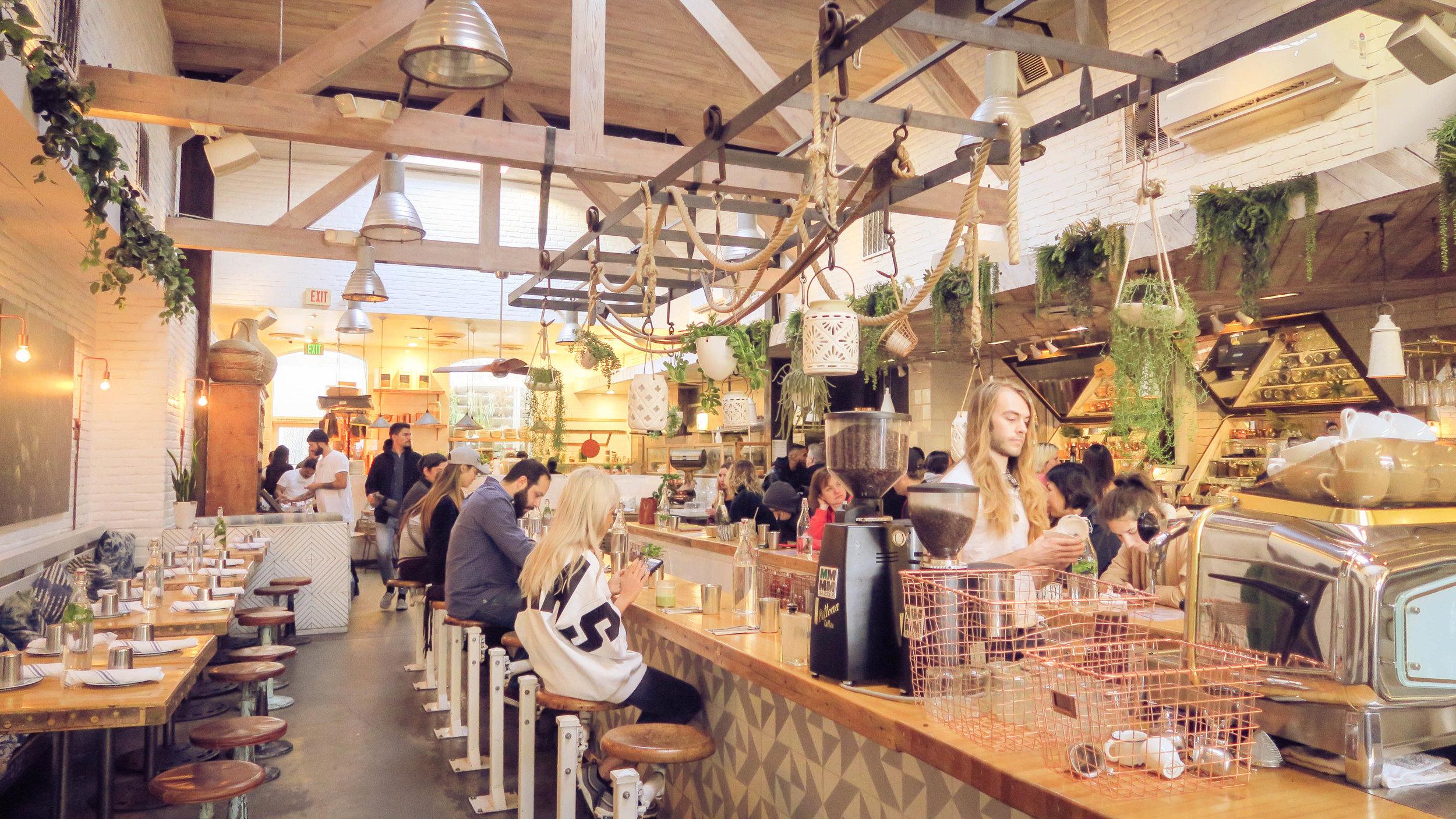 Lovely Plant-Based Restaurant in Venice Beach