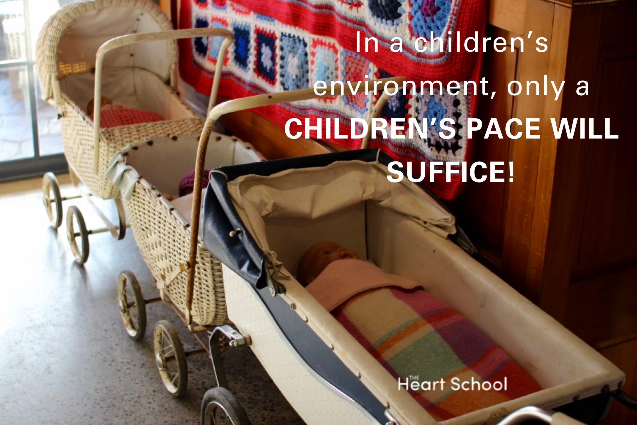 We have to hold the early years as sacred if we are to do the very best for the children in our care.Of all the fundamental gifts we offer to children time is perhaps one of the most important. Magical childhoods are unhurried and protect the children's natural pace. What is the pace of childhood at your centre?