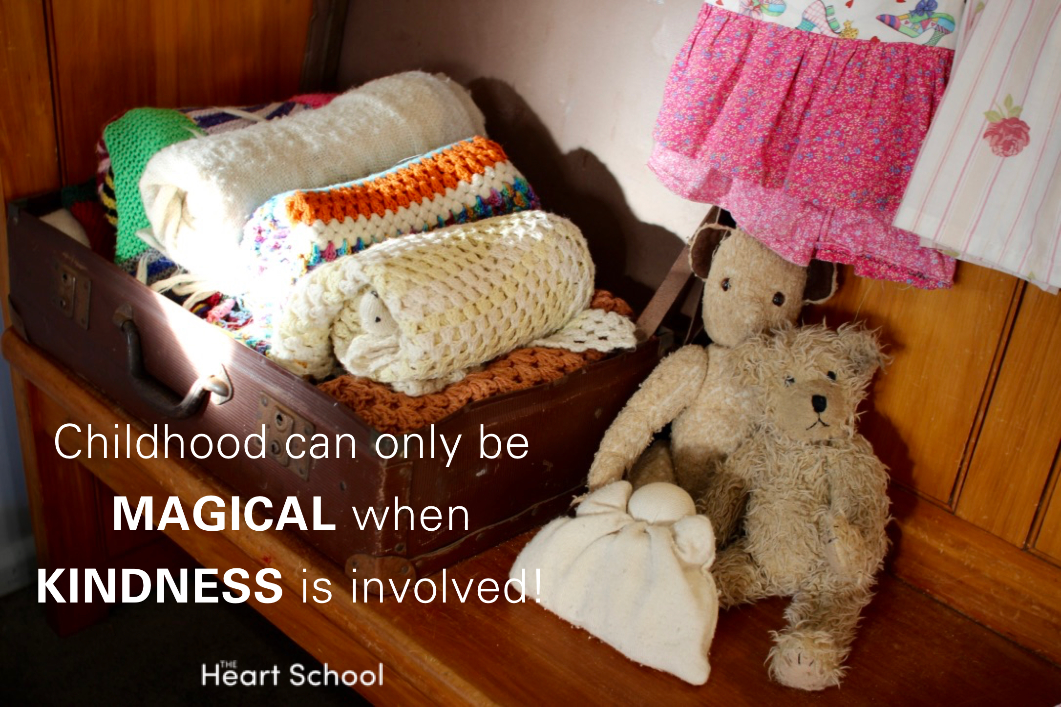 Kindness is critical when working with children. They may forget what they did but they will never forget 'how' they were treated. Kindness is a direct 'deposit' into the child's 'heart account'. Kindness honours the spirit of the child.