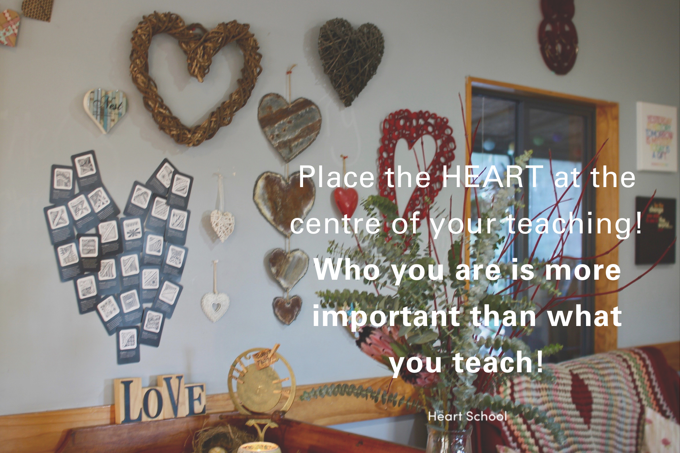 Children never forget the teachers who gave them memories that are heartfelt. The rich deposits of love get stamped in the child's heart forever! When a child experiences satisfaction and pleasure through LOVE and CARE then the imprint will indeed be one of the heart .