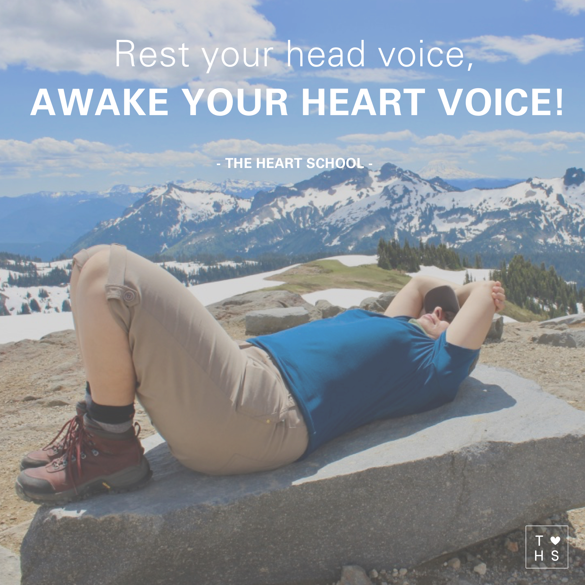 Rest is sacred. It is there we can listen to the quiet voice inside of us. The soft whispering words that speak the voice of our heart. Lay the loud voice of your head to rest today and invite the quiet voice of your heard to sing!