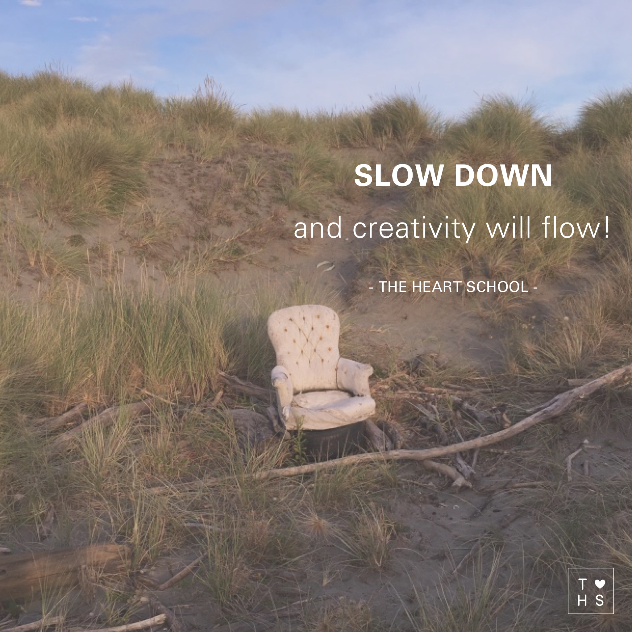 Feeling rushed? Deflated? When we are always on the go, our mind going in turbo, we tend to miss opportunities. We act more reactive, less responsive, and less intentional. Slowing down creates more space in your life to be more creative. Say No today to multi-tasking, say Yes today to presence and creativity will follow!