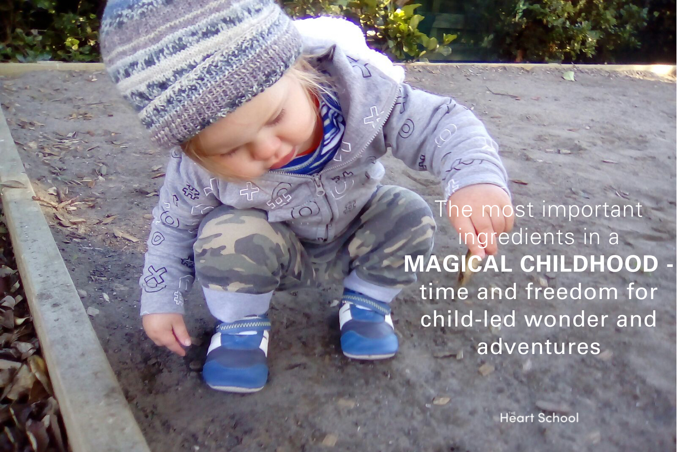 Young children are blessed with a natural curiosity for the world around them. They explore with all their senses, ask questions and observe. They look for connections and relationships between what they already know and what they are discovering for the first time.