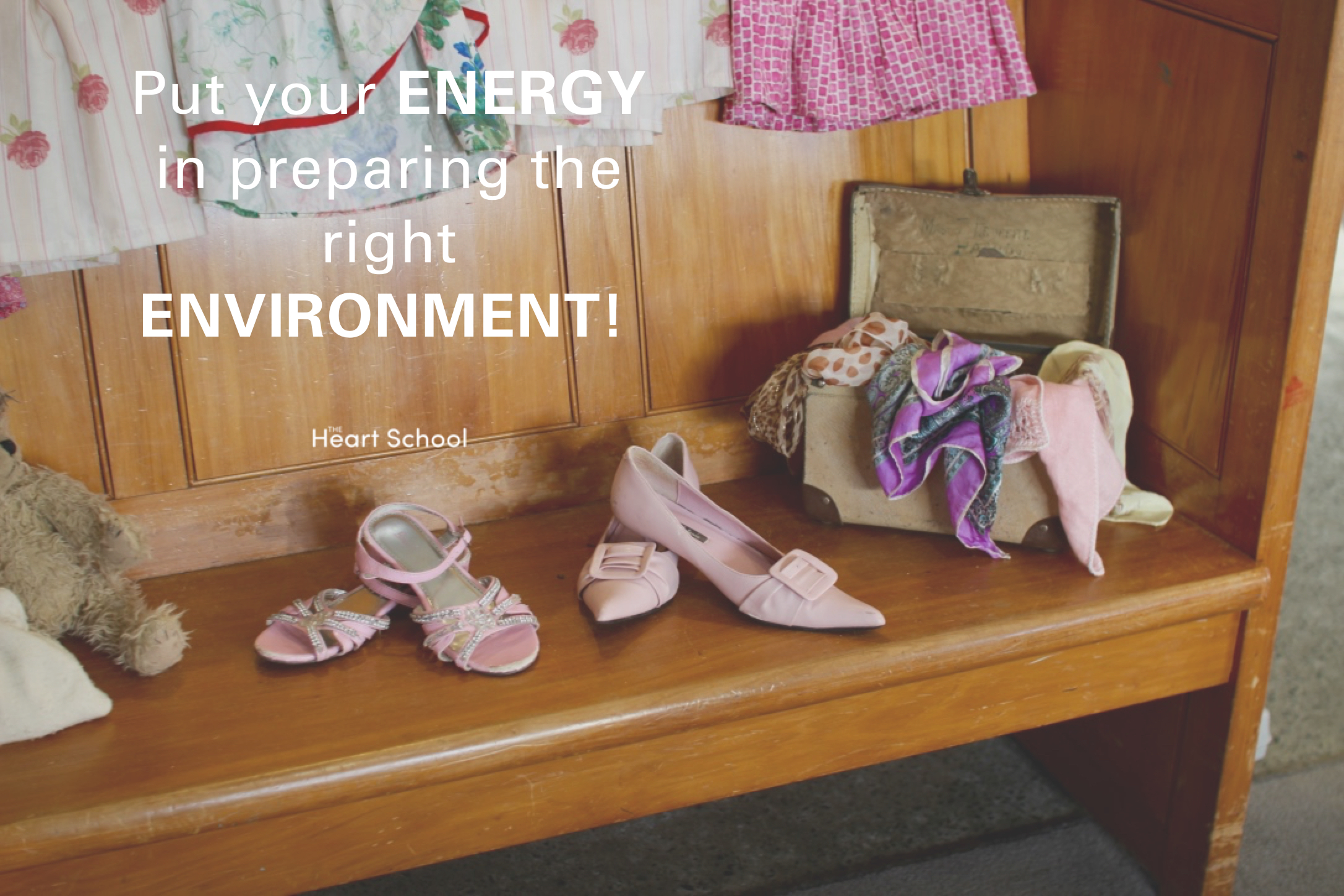 If you have faith in your environment you can have faith in your children! We really can't say it enough. Have faith. Trust. Children know what they need. They can, and they will, learn. They will make use of the environment we provide for them.