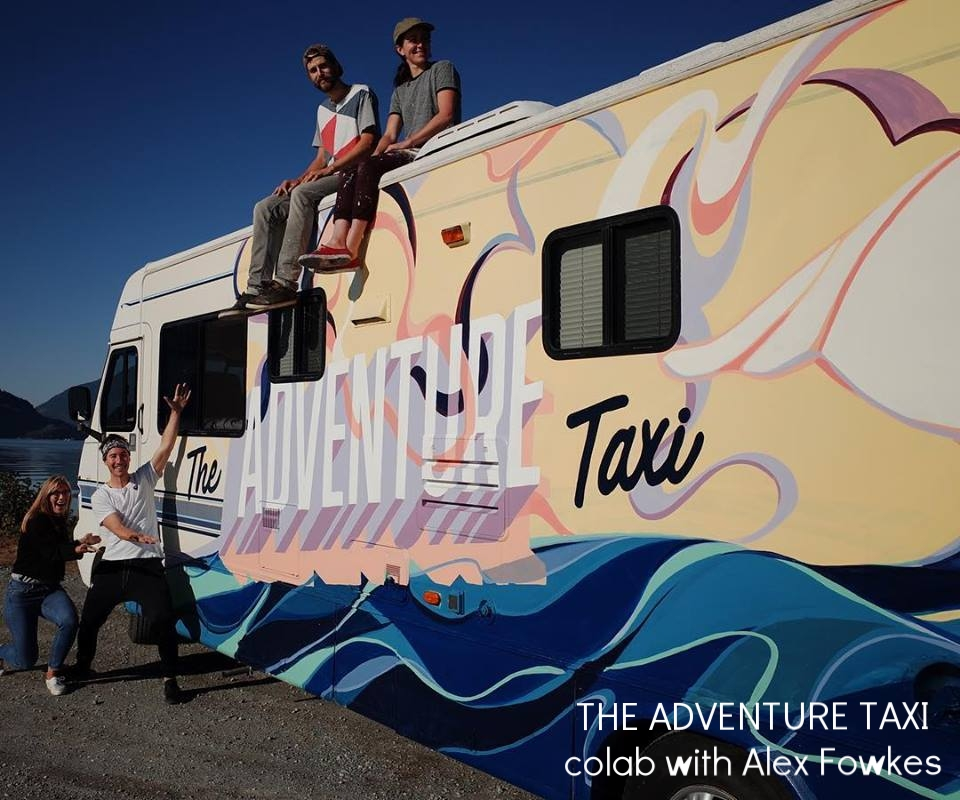 The Adventure Taxi with Alex Fowkes