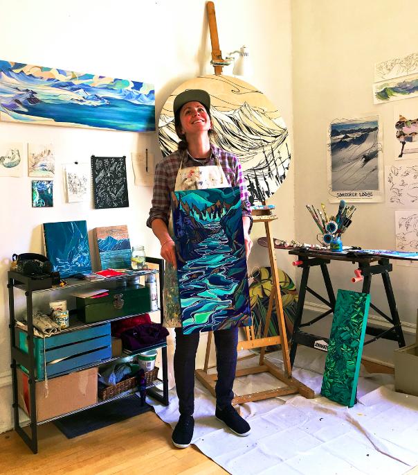 Jessa Gilbert Studio - Nelson BC