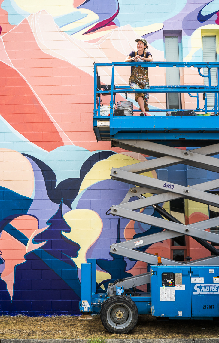 Squamish Mural Creation with Great Big Story
