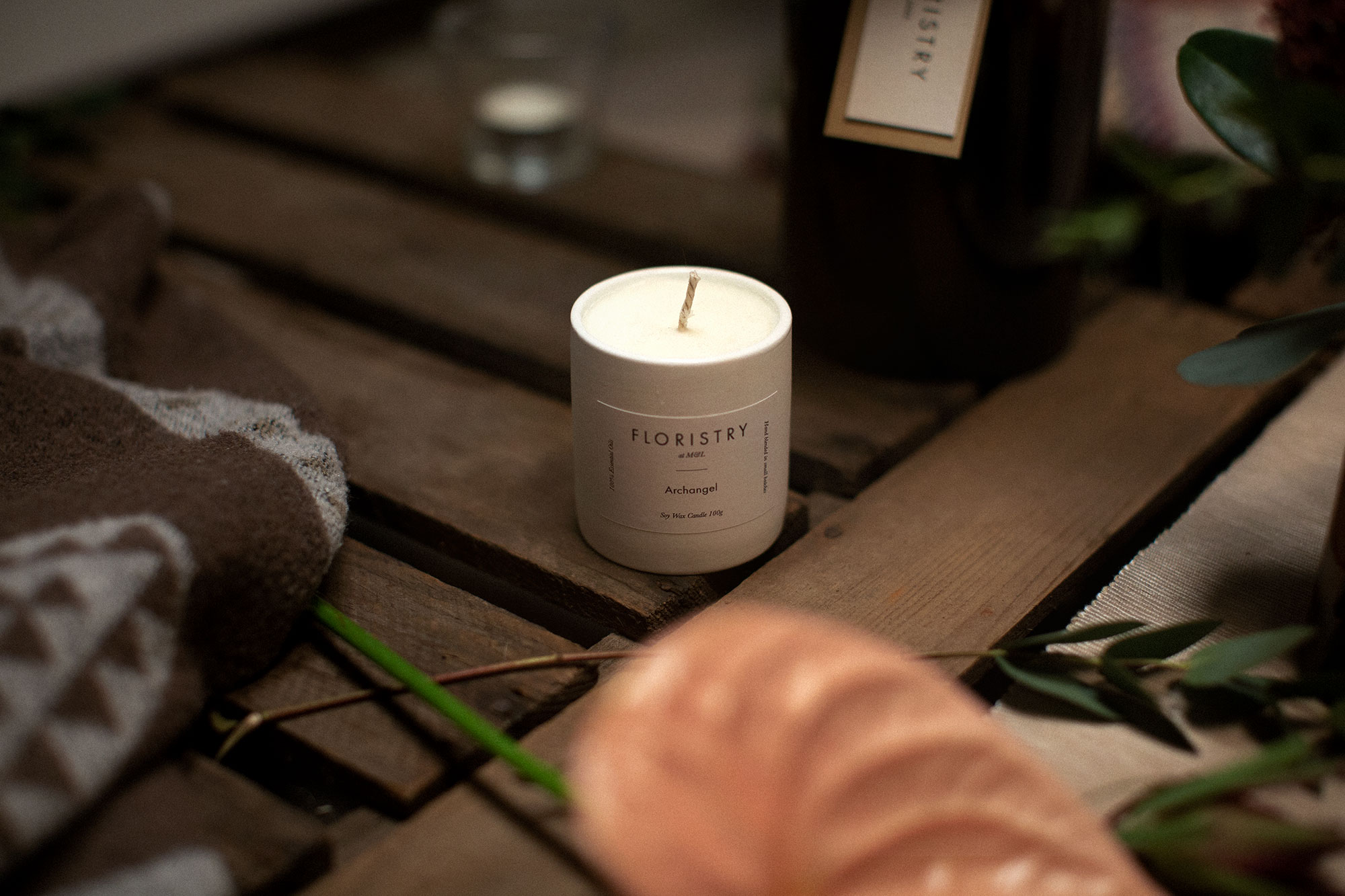 Floristry Soy Wax Candle